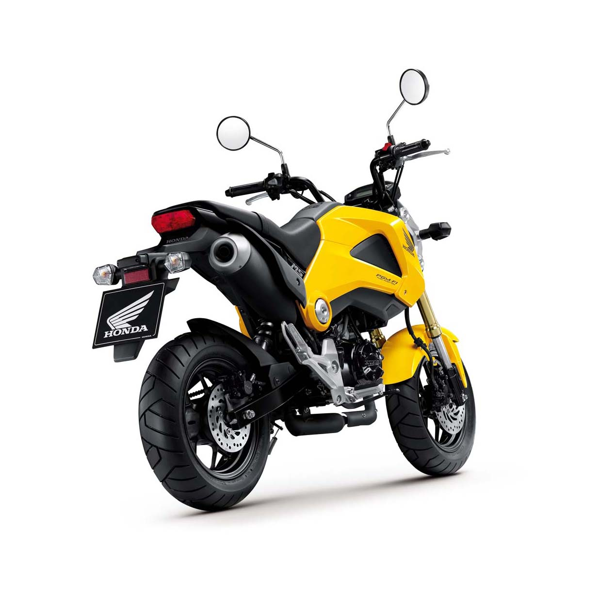 2014 honda grom perfect small city motorcycle welcome for Honda grom