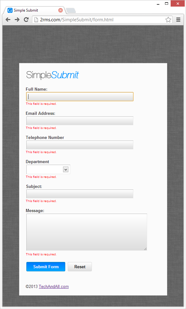 SimpleSubmit_rquired