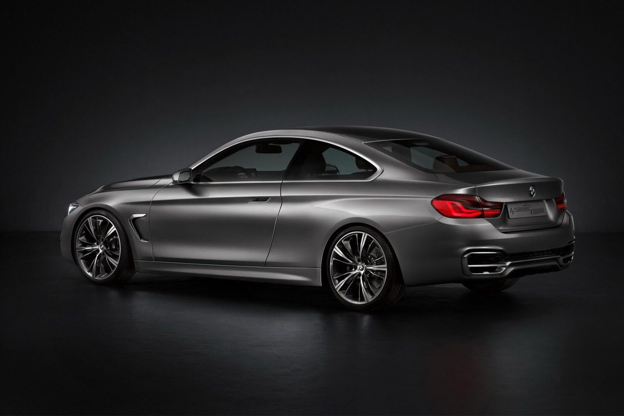 The All New Bmw 4 Series Coupe Official Commercial Tech All