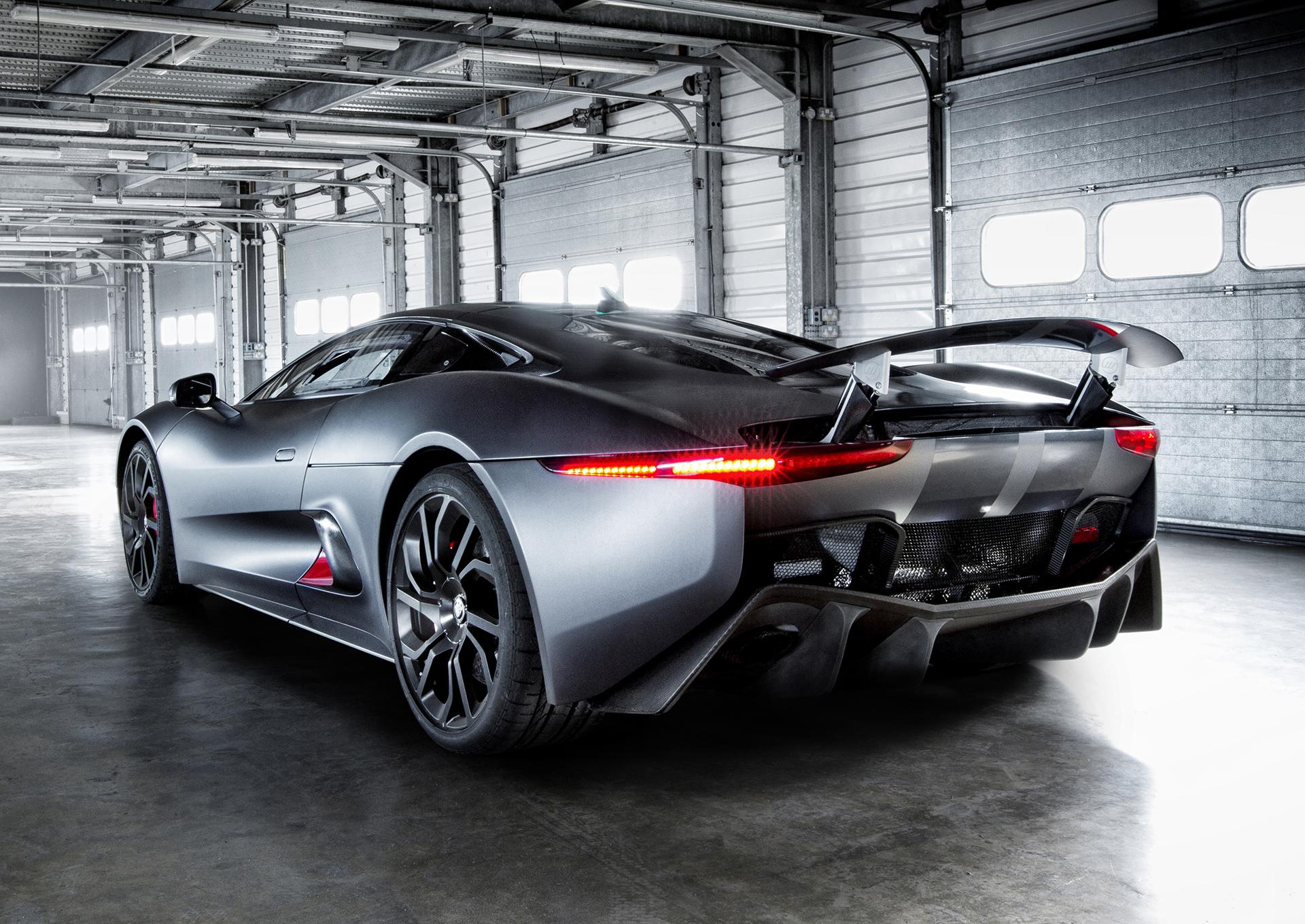 Jaguar C Hybrid Supercar Prototype Showcases Technology Of The