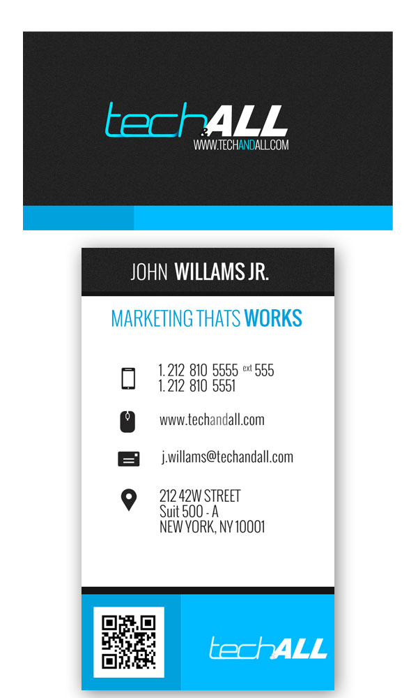 TechAndAll_Corprate_Business_Card_preview