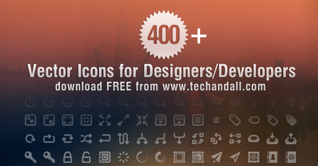 TechAndAll_400_Plus_vector_icons_preview