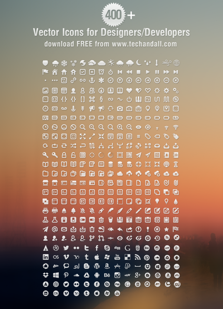 Vector Icons large