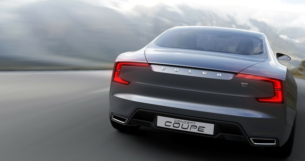 Volvo Concept Coupe back