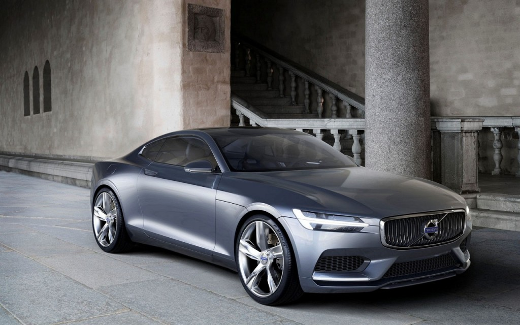 Volvo P1800 Inspired Concept Coupe Tech Amp All