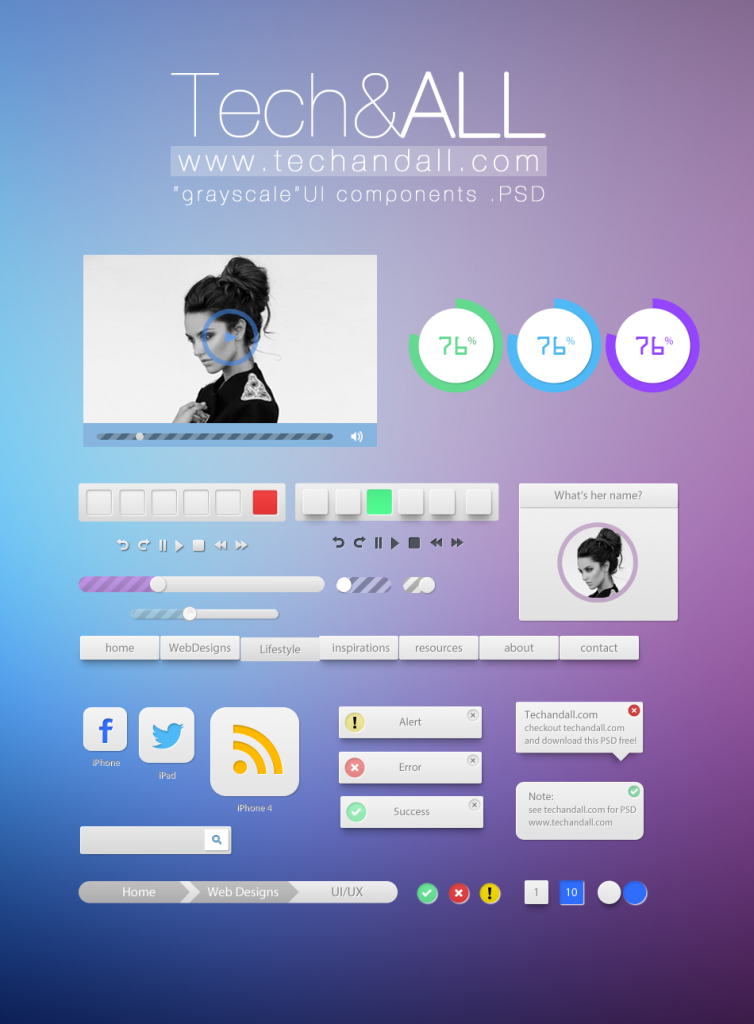 techandall_grayscale_UI_components_large