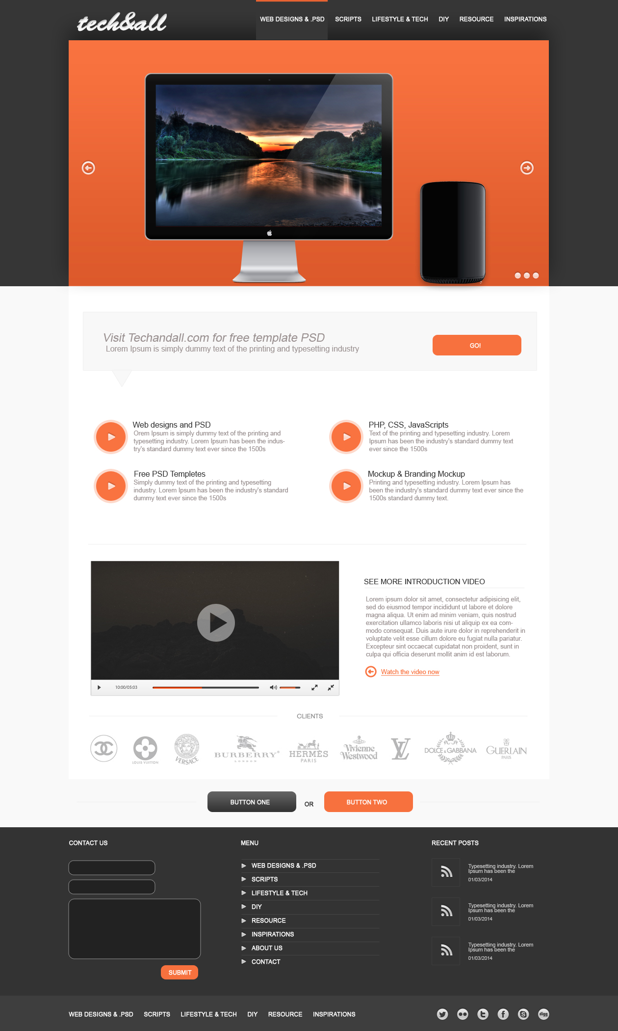 Techandall-multi-purpose-template