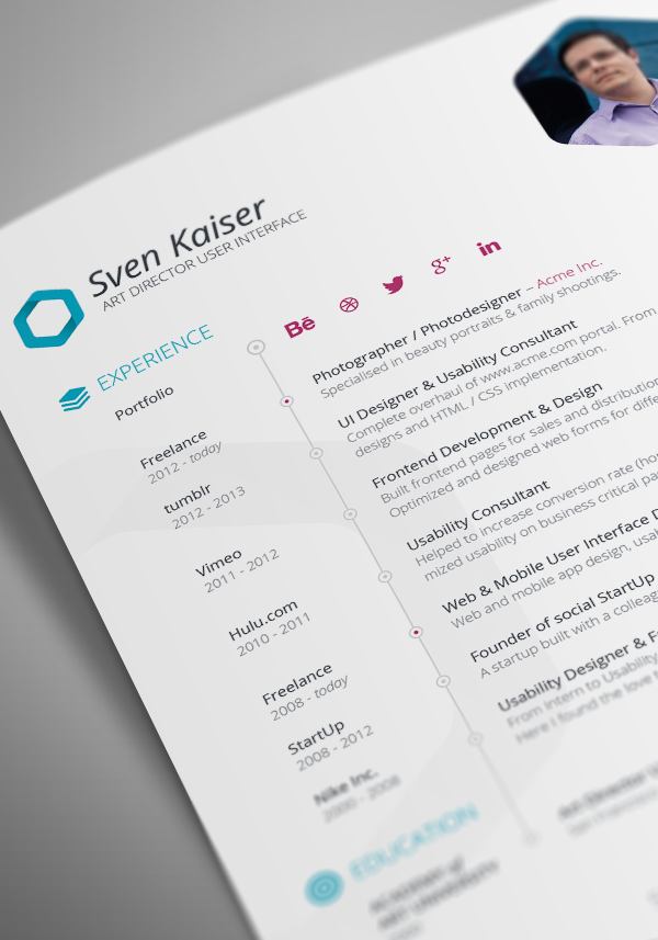 resume cv indesign template welcome to tech all