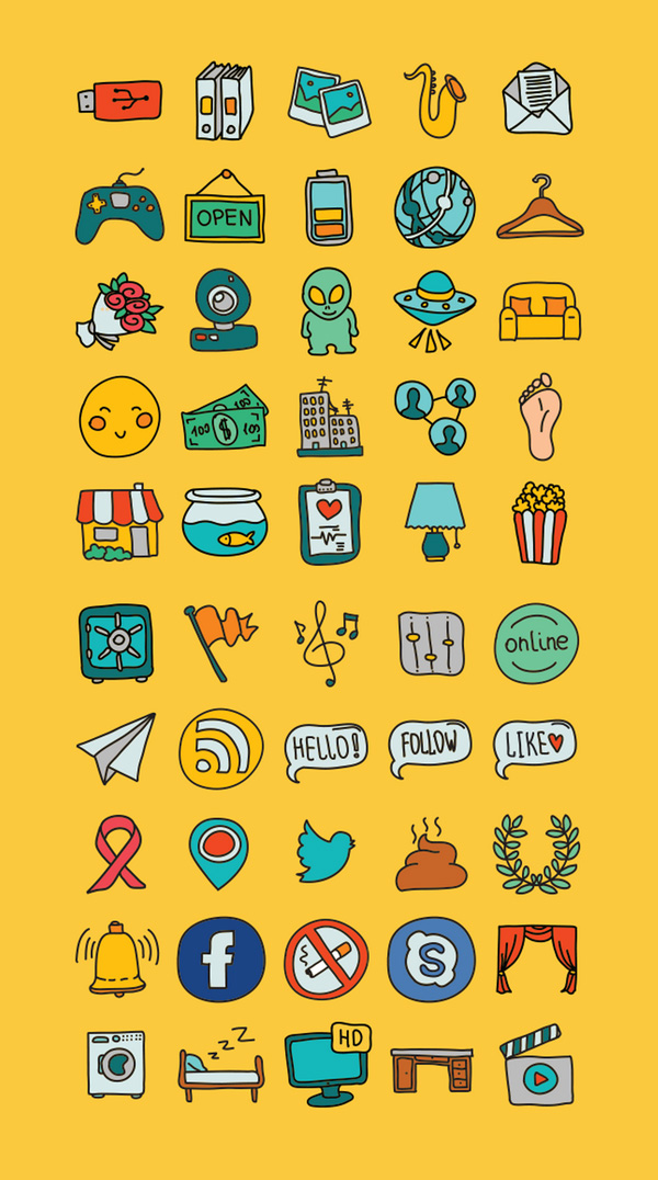 doodle-icons600