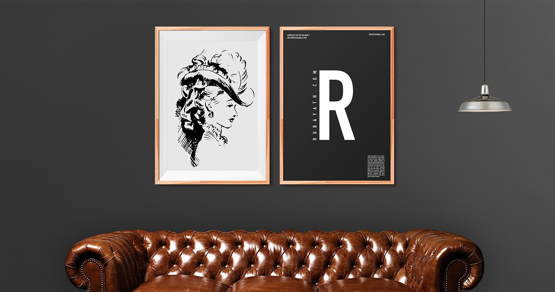 techandall - Art Frame v2 Livingroom