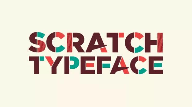 Scratch-free-font